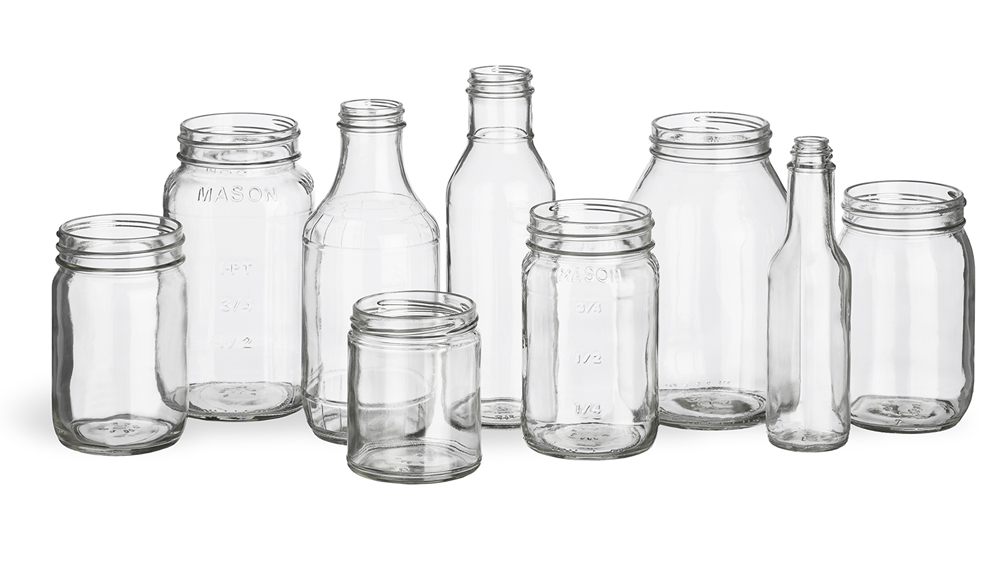 Wholesale craft food bottles and jars