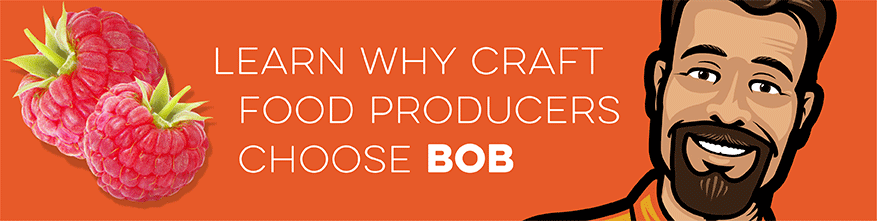 learn why craft food producers choose BOB for their bottles and jars